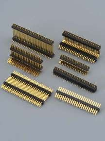 A1272-1.27mm Pitch Dual Row Pitch Pin Header SMT, DIP Connector