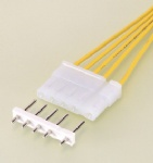 V connector V cable assembly