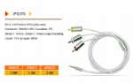 Lighting cable iPod iPad iPhone cable Manufacturer USB Audio Video Charger Cableswith USB RCA